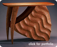 handcrafted furniture made in Vermont by David Hurwitz